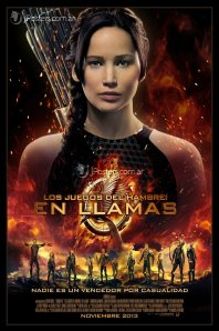 Hunger-games-catching-fire SPANISH MOVIE POSTER