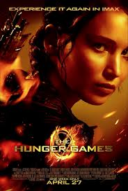 HUNGER GAMES IMAX MOVIE POSTER